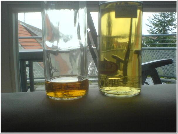 First bottles